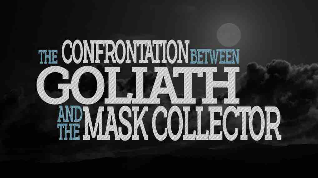 The confrontation between Goliath and the Mask Collector – Mechanical Boss